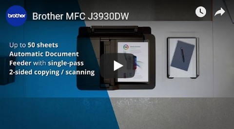 Brother MFC-J3930DW Video